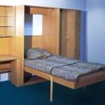 подъемная кровать неведимка