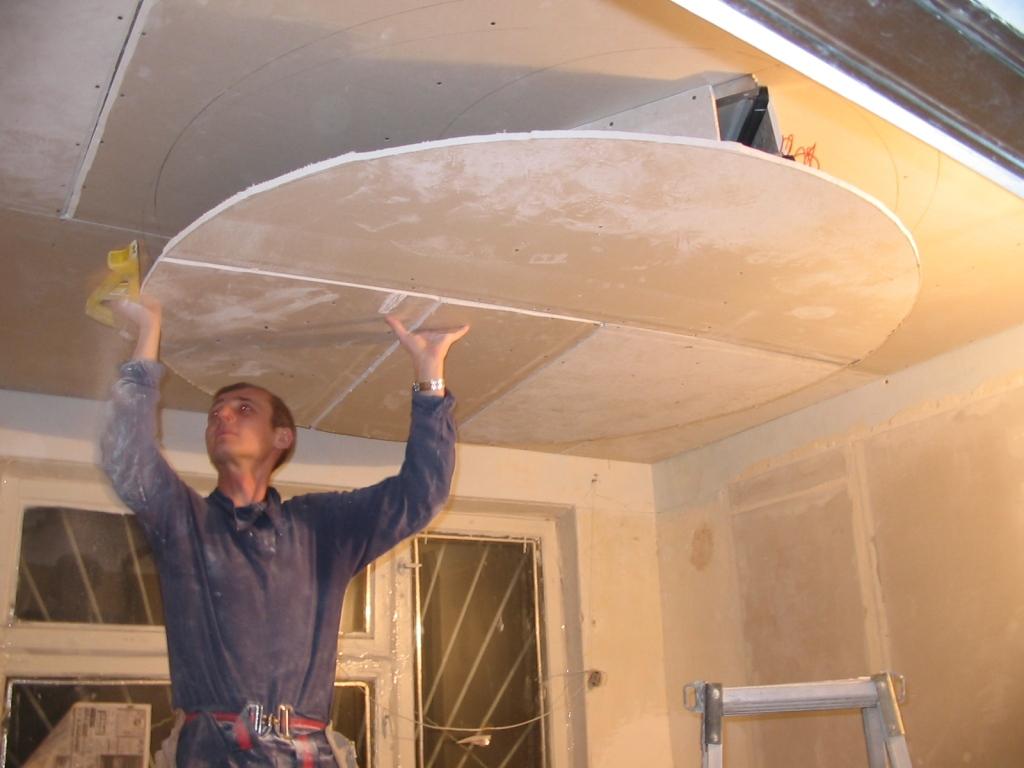 Двойной потолок своими руками