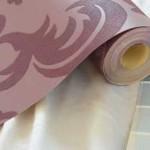 Монтаж шовных текстильных обоев