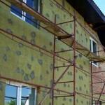 Утепление фасадов домов и наружных стен