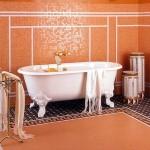 Мозаика своим руками в ванной комнате