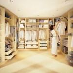 Виды гардеробных комнат