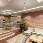 Какие отделочные материалы способны придать жилому помещению уютную обстановку