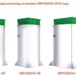 Очистные станции Евробион