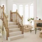 Классические маршевые лестницы для дома