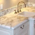 Столешницы из натурального камня для ванных комнат
