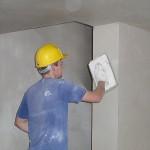 Выравнивание стен с помощью сухих смесей