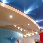 Дизайнерский натяжной потолок по правилам фен-шуй