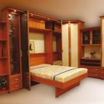 Гостиная с подъемной кроватью