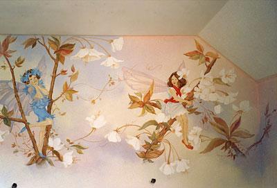 Декор стен в доме своими руками