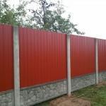 Комбинированные заборы для дачи