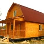 Проекты деревянных домов из клееного бруса