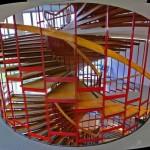 Варианты винтовых лестниц