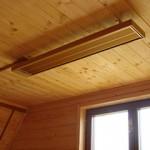 Как работают потолочные инфракрасные обогреватели