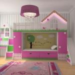 Кровати для детей домик