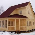 Каркасные недорогие дома